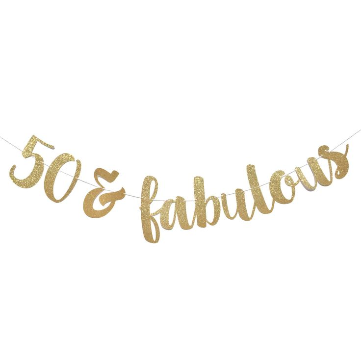 50 and Fabulous | Fifty and Fabulous | 50th Birthday Decoration | 50 Birthday | 50th Birthday Banner | 50th Birthday | Party Happy Birthday by ShowPonyPartyShop on Etsy https://www.etsy.com/listing/485228037/50-and-fabulous-fifty-and-fabulous-50th