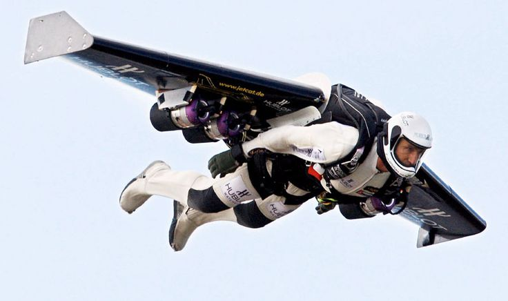 Rocketman flies over Alps with jet-pack strapped to his back    Read more: http://www.dailymail.co.uk/news/article-566434/Pictured-Rocketman-flies-Alps-jet-pack-strapped-back.html#ixzz1l6nNYMSk