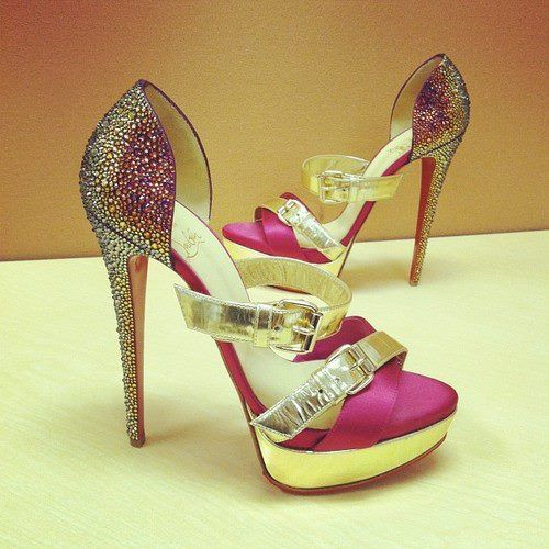 Christian Louboutin shoes glamour featured fashion shoes fashion christian louboutin... All I can say is WOW