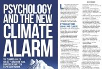 """The advertisers identified themselves only as """"The Climate Study Group"""" in the page five advert that appeared on 7 August under the title """"Psychology and the New Climate Alarm"""".  DeSmog has found the group members have links to mining, finance, agriculture and free market """"think tank"""" the Institute of Public Affairs (IPA)."""