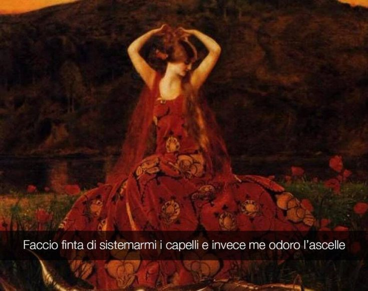 Se i quadri potessero parlare La belle dame sans merci - Frank Cadogan Cowper
