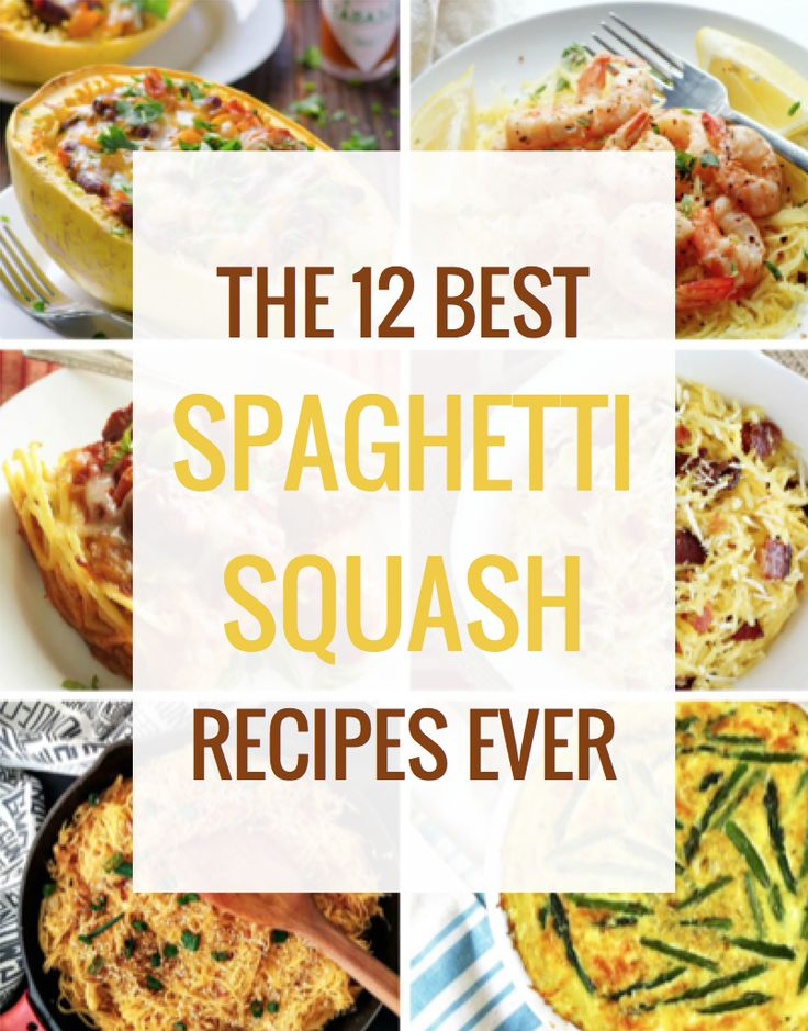 The 12 Best Spaghetti Squash Recipes Ever