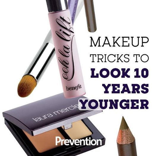 5 Easy Makeup Tricks To Look 10 Years Younger | Makeup ... - photo#35