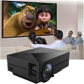 Projetor Portátil GM60 LCD 1000Lm 1080P HD