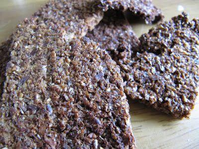 Zelfgemaakte crackers: Zoete zaad crackers en 3-minuut-lijnzaadcrackers | De Bakparade
