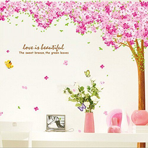 Large Pink Sakura Flower Cherry Blossom Tree Wall Sticker... https://www.amazon.co.uk/dp/B01EJEZ2ZK/ref=cm_sw_r_pi_dp_x_8x1RybR5RKXV2