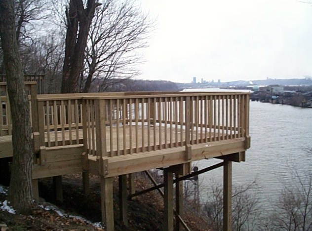 Quality wood decks by Quaker State Construction Pittsburgh