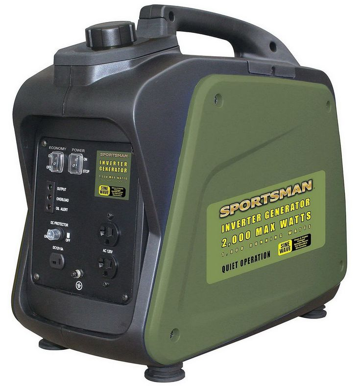 Portable Power Generator Sportsman 2000 Watt Inverter Gas Powered