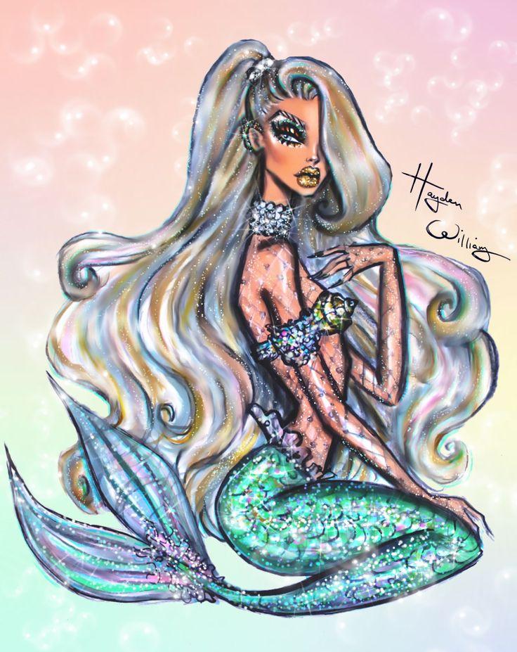 Underwater Glam... #MerMay #Mermaid