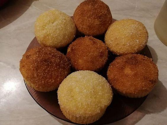 Kürtős kalács muffin bögrésen