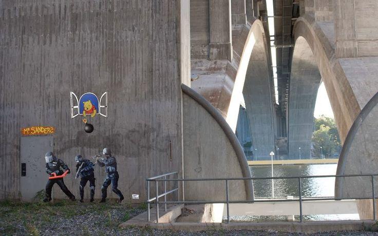 "Herr Nilsson da IL RAMO D'ORO ""Street Art"" https://ilramodoro-katyasanna.blogspot.it/2013/11/street-art.html"