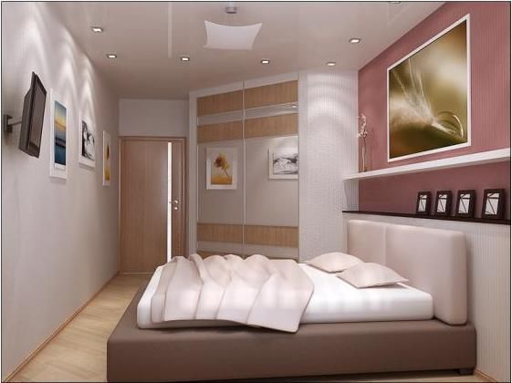 маленькая длинная спальня - Поиск в Google