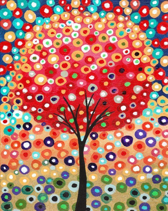 Tree painting #wallart #tree