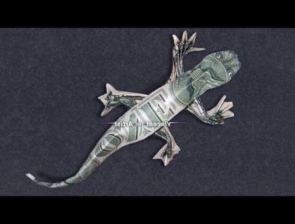 35 ideas for origami money tree dollar bills
