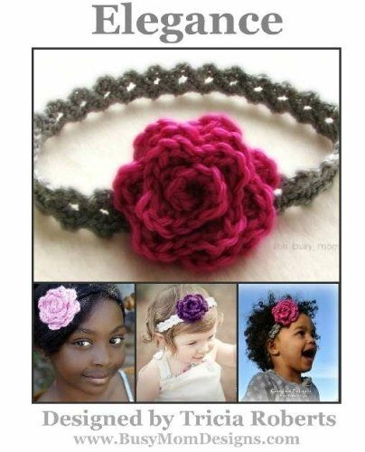 List Crochet headband pattern tutorials at the bottom of the page. List by http://craftyville.squidoo.com/