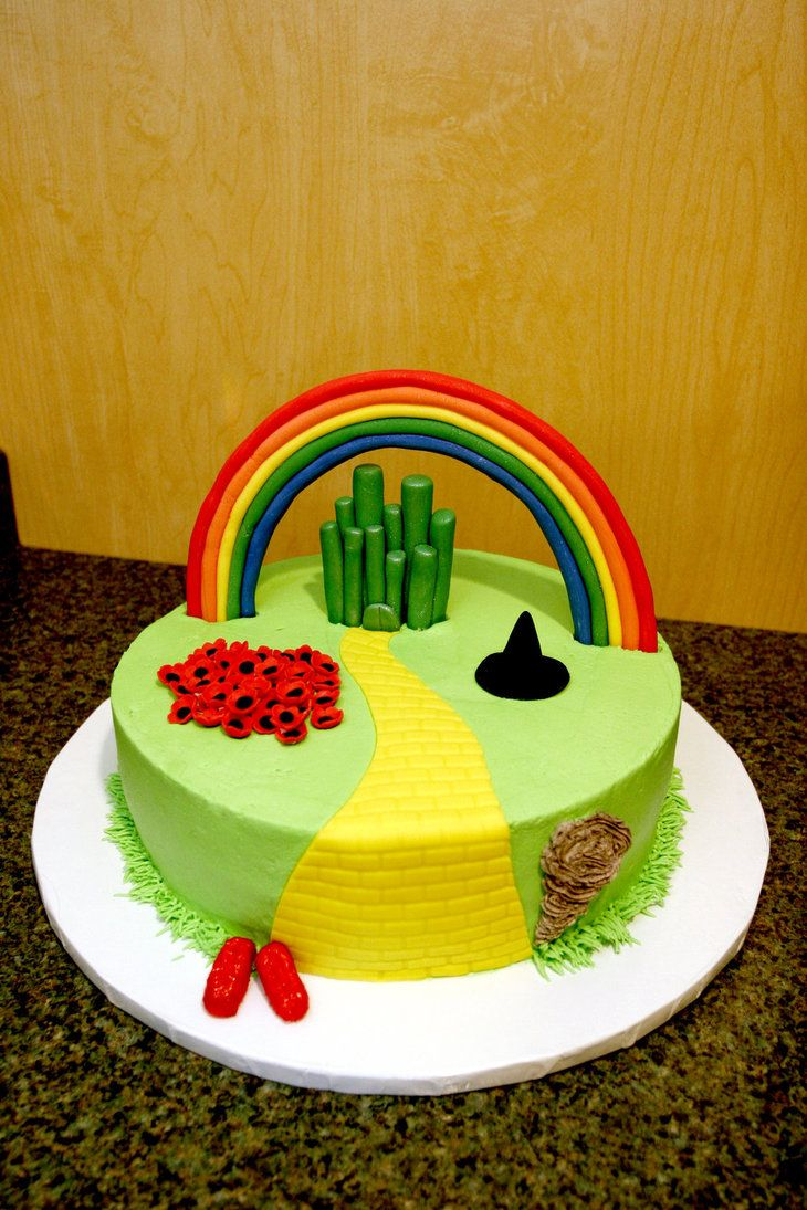 32 best Wizard of Oz Cake Ideas images on Pinterest Wizard of oz