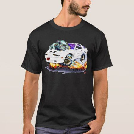 1982-92 Trans Am White Turbo GTA T-Shirt - tap, personalize, buy right now!
