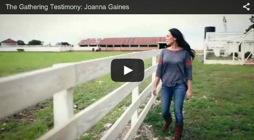 "HGTV's ""Fixer Upper"" Star, Joanna Gaines Shares her Beautiful Testimony"