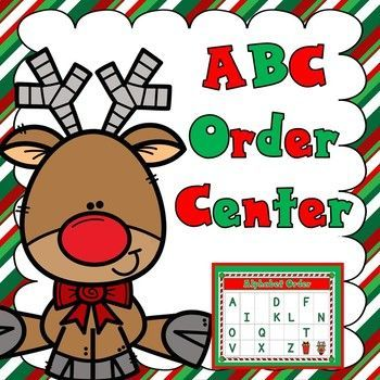 Christmas ABC Centers – Dramatic Play/Centers