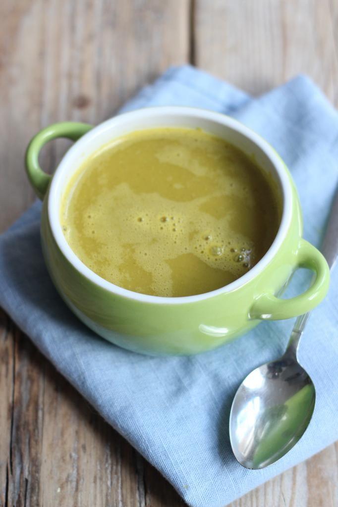 Gezonde pompoensoep met broccoli en wortel - Lekker en Simpel