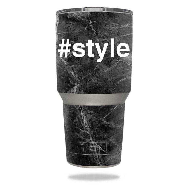 Style YETI 30 oz Rambler Tumbler Skin https://www.mightyskins.com/ #MightySkins #YETI