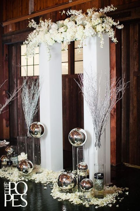 A wedding arch, altar or backdrop is a must for every ceremony, and as we've already shared backdrop ideas, today it's time for arches and altars.
