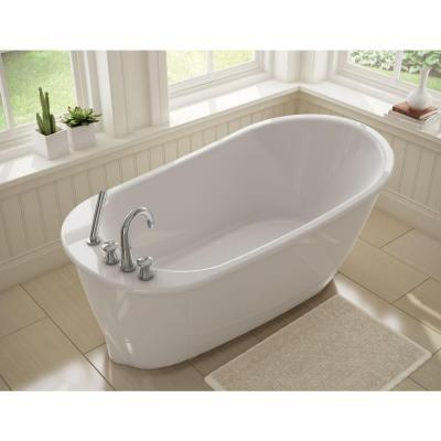 5 ft freestanding soaking tub. MAAX Sax 5 ft  Freestanding Bath Tub in White 49 best Tubs images on Pinterest Bathroom designs