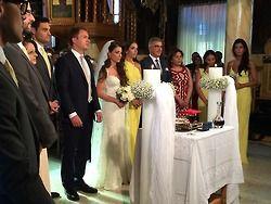 Destination Greek Orthodox Wedding in Athens Greece