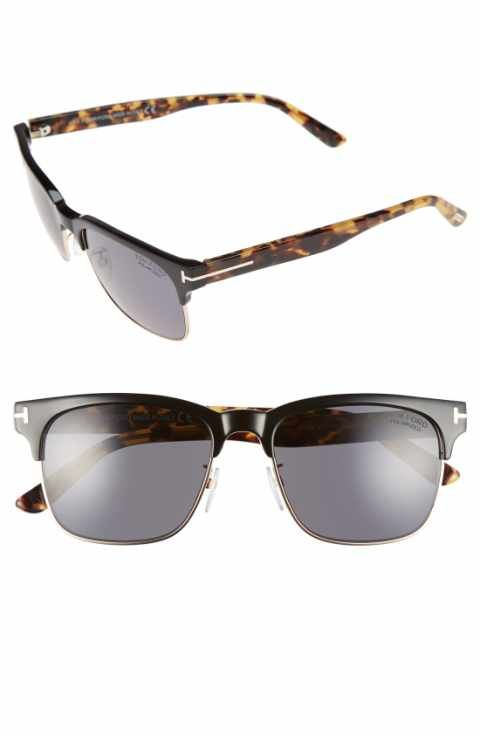 1de2f88a613 Tom Ford  Louis  55mm Polarized Sunglasses
