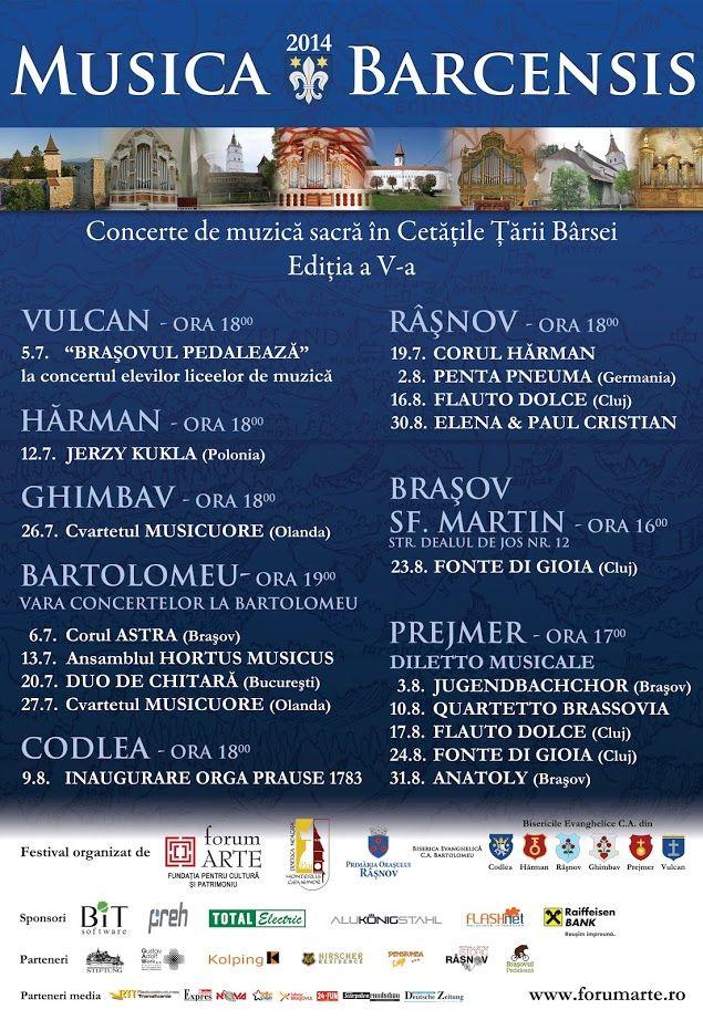 Artişti de peste hotare la Musica Barcensis