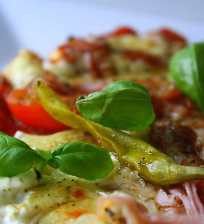 Pizza LCHF   Jennys Matblogg