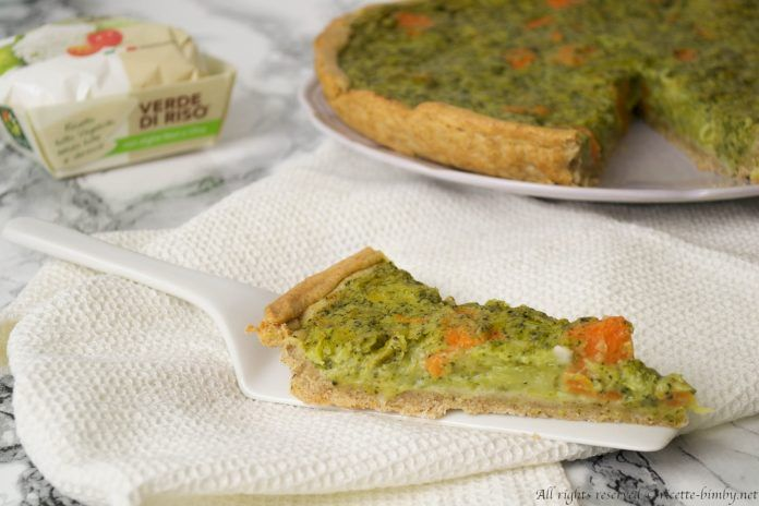 Torta salata broccoli e zucca Bimby #ricettebimbynet