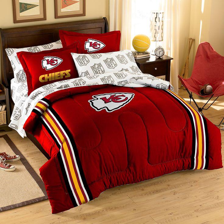 Where to buy Kansas City Chiefs bedding? Buy here: http://www.mysportsdecor.com/kansas-city-chiefs-bedding.html  #kansascity #kansascitychiefs #chiefsbedding #kcbedding #nflbedding