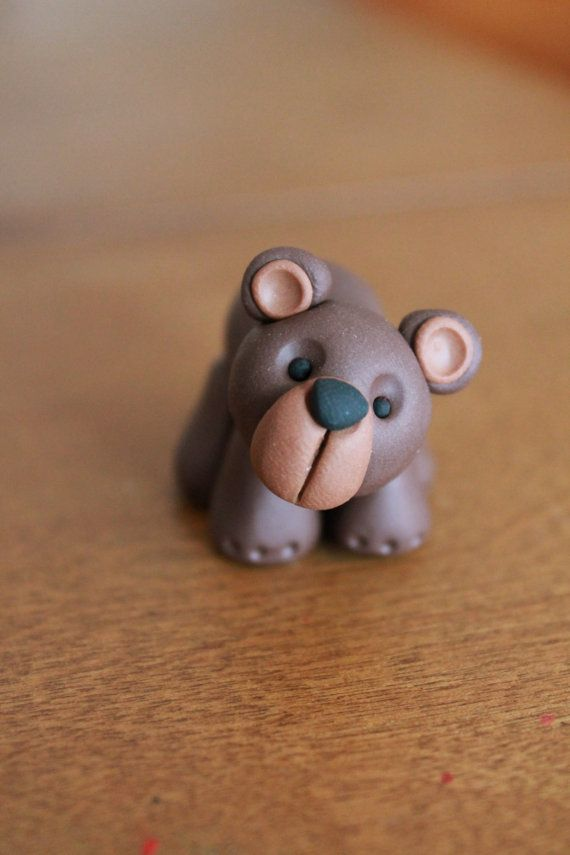 1000 Images About Polymer Bears On Pinterest Polymer Clay Miniatures Fimo And Teddy Bears