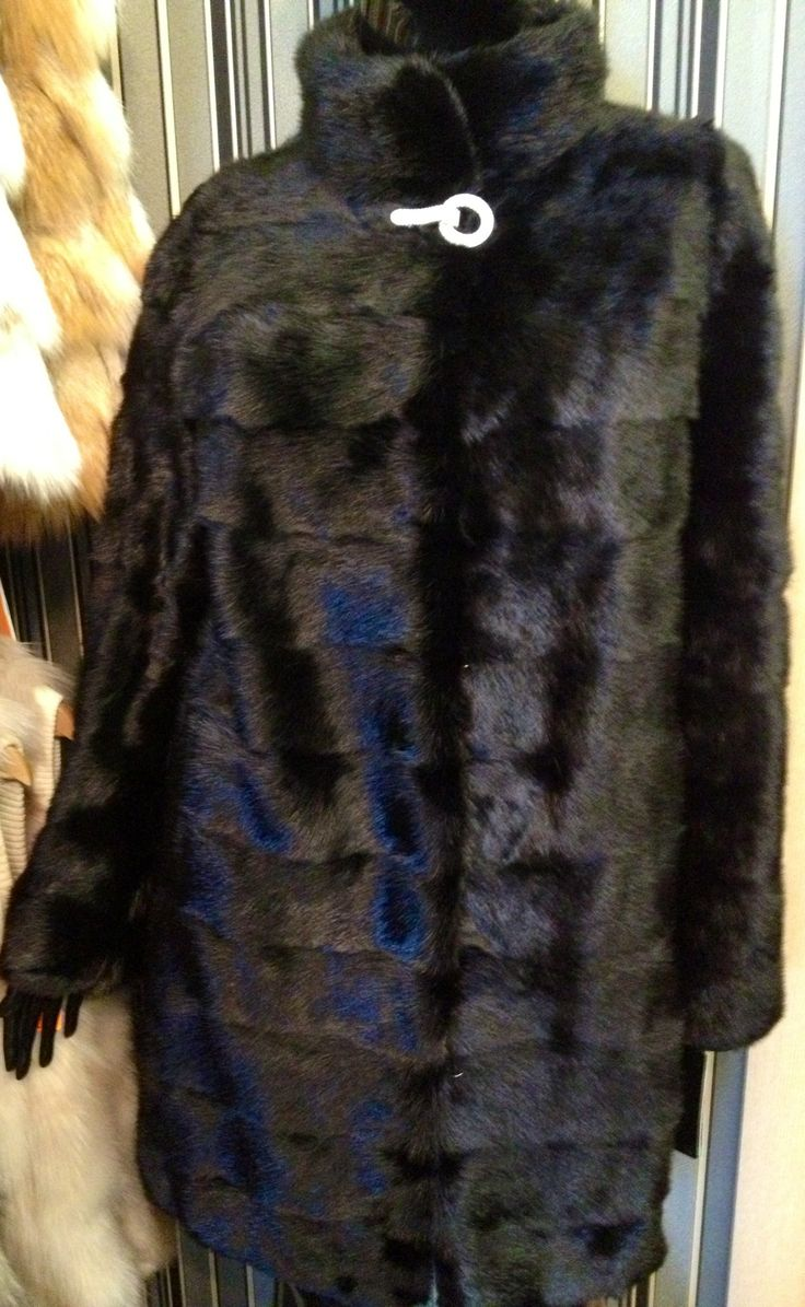 Шуба из канадской дикой норки Цена со скидкой 33 000 Размер 46 #мех#меховая жилетка#шуба#меховой жилет#чернобурка#норка