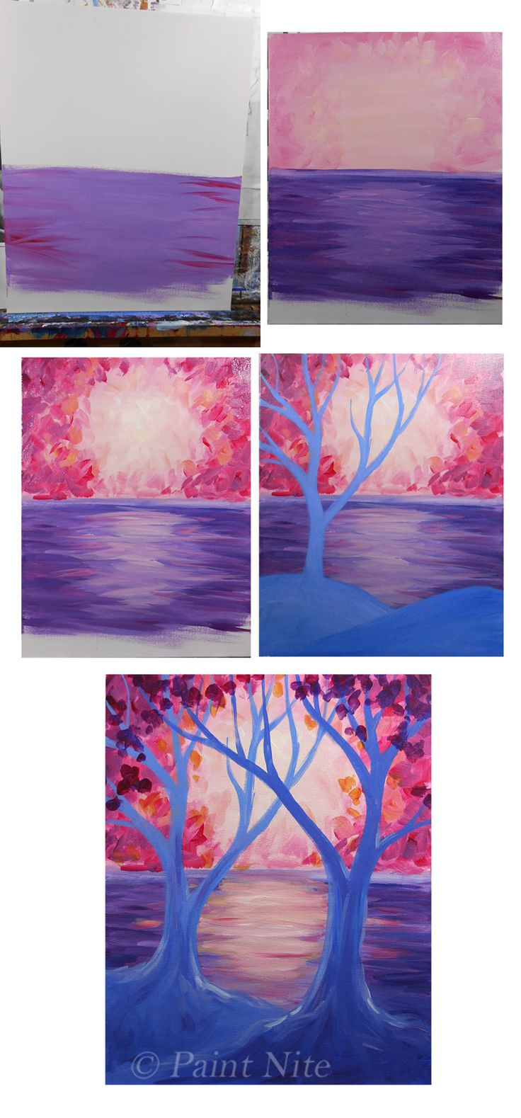 good paint night images