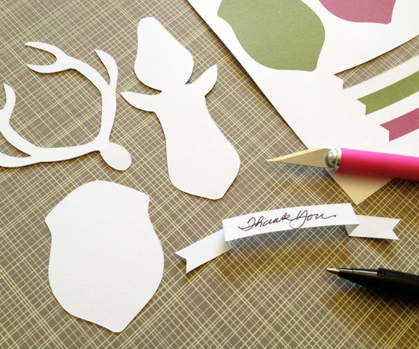 How To Make A Paper Deer Mount Belle Craft My Ideas