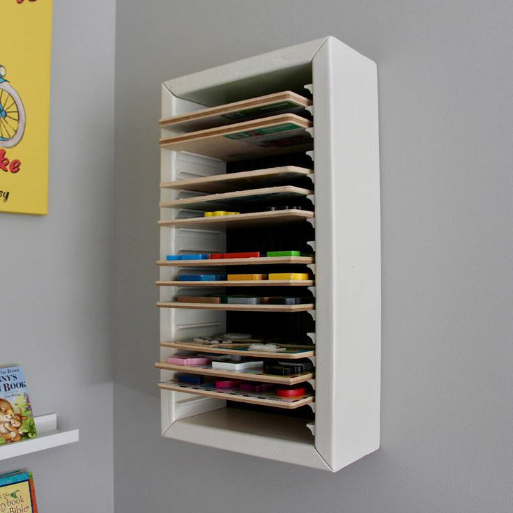 Puzzle Storage, Wood Puzzle Shelf, Kids Puzzle Storage, Playroom Storage, Puzzle Organization, Puzzle Rack, Wood Puzzle Storage by RusticHouseCo on Etsy https://www.etsy.com/listing/507904100/puzzle-storage-wood-puzzle-shelf-kids