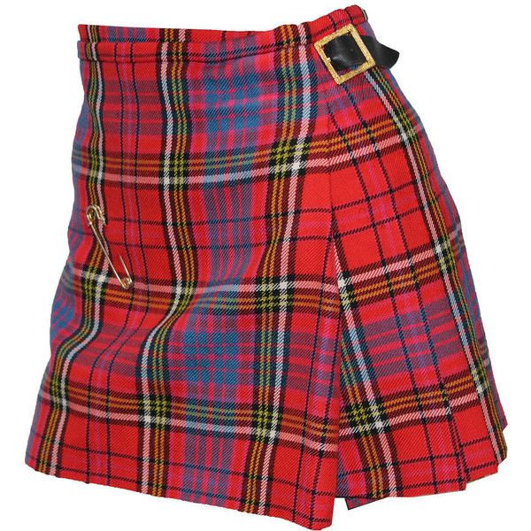 Pre-owned The iconic punk Vivienne Westwood pleated kilt skirt c. 1994 ($1,488) ❤ liked on Polyvore featuring skirts, bottoms, vintage, red pleated skirt, leather belt, knee length pleated skirt, vintage pleated skirt and punk skirt
