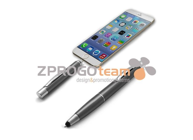 NOVINKA - NEW: This practical helper 3 in 1 - Power bank with ballpoint pen and stylus.