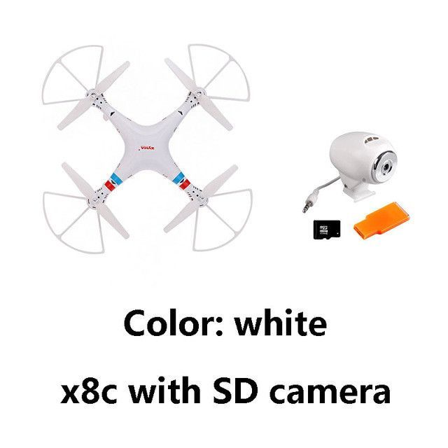 JJRC BIG PROFESSIONAL DRONES Syma X8C X8W X8G 6-Axis Venture with 2MP / 5MP Wide Angle Camera RC Drone Quadcopter RC Helicopter