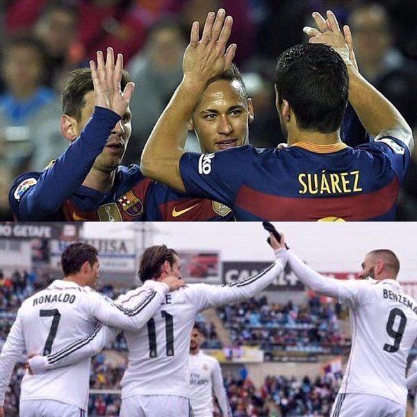 Messi, Suarez i Neymar strzelili razem 45 goli w La Liga • Bale, Benzema i Cristiano też strzelili 45 goli w La Liga • MSN i BBC >> #football #soccer #sports #pilkanozna #barca #fcbarcelona #barcelona #real #realmadrid