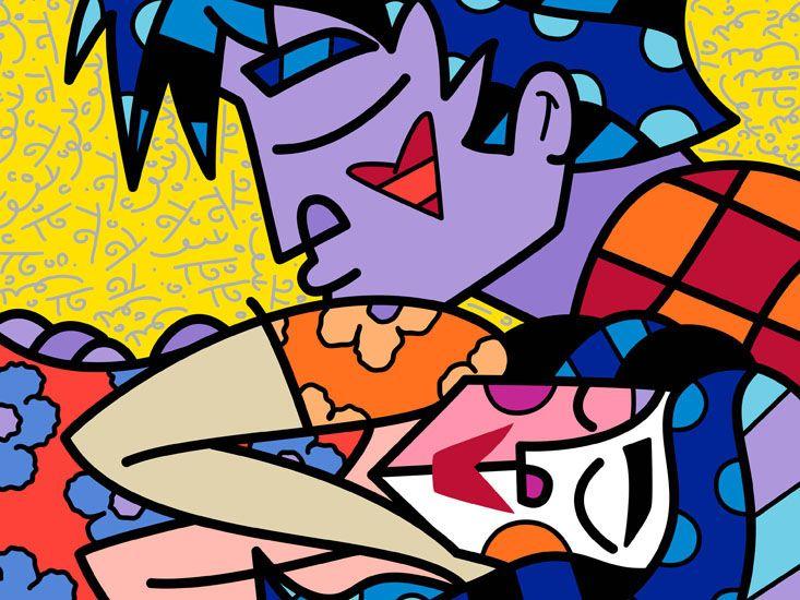 63 best Romero Britto (Fine Art Prints) images on Pinterest