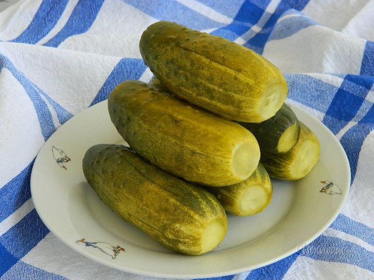 Kvasené uhorky rýchle