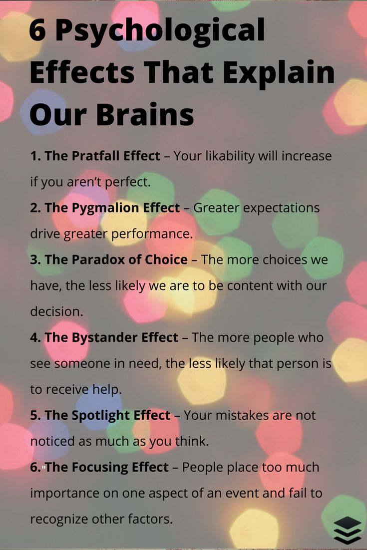 6 psychological effects - read slowly & digest.