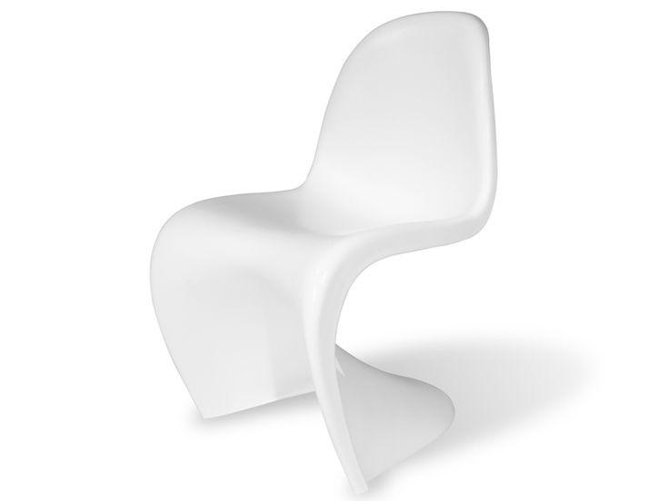 1000 id es sur le th me chaise violet sur pinterest cuisine violet canap - Chaise panton blanche ...