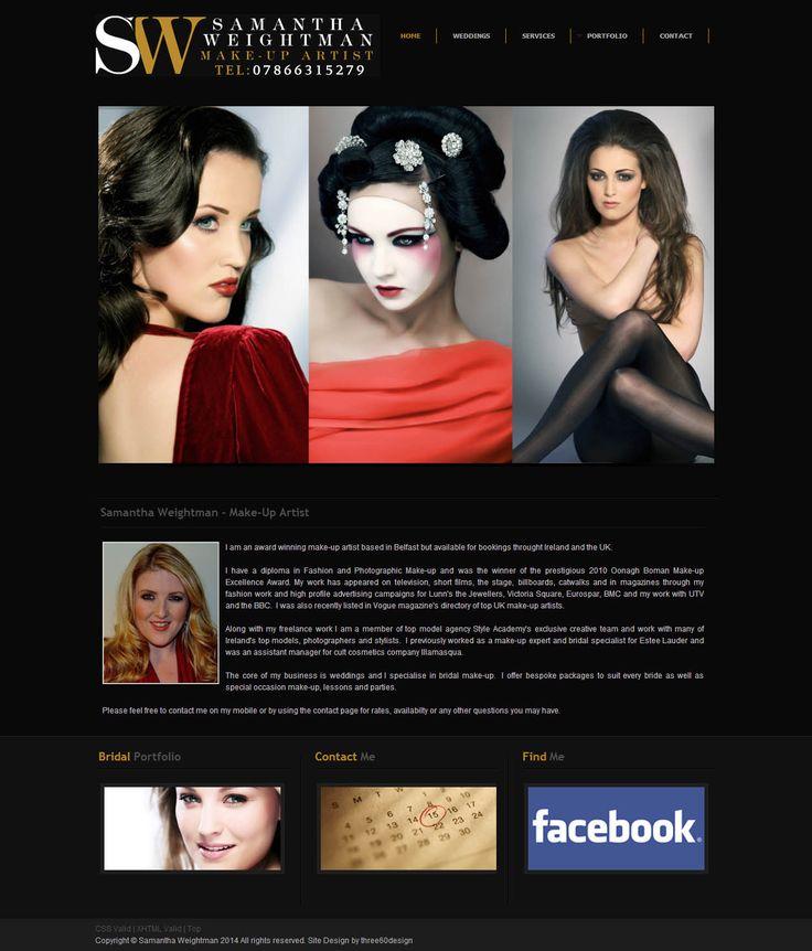 Samantha Weightman - three60design Banbridge Northern Ireland - Web Design