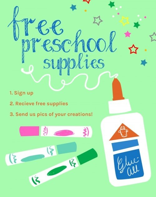 Free Preschool Supplies Program - Preschool teachers can get a free supply every month for their classroom. Click through to learn more! #ad