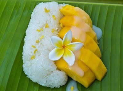 Rezeptsammlung: Mango mit Klebreis - Kao Niao Ma Muang