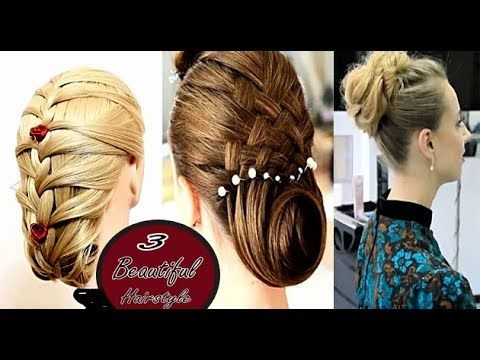 3 Beautiful Hairstyles for Bridal, Easy Wedding Hairstyles 2017